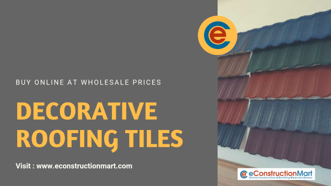 Decorative Roofing Tiles - eConstructionMart