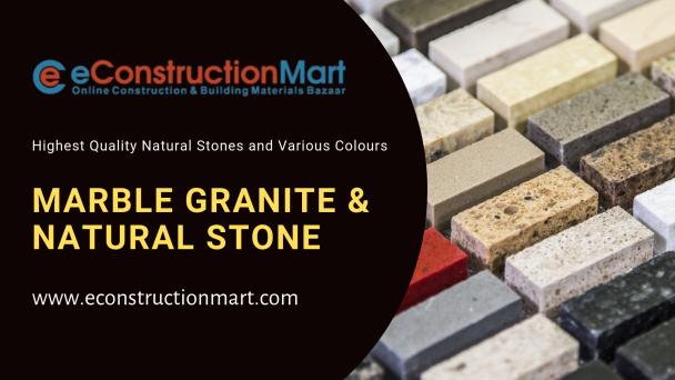 Marble Granite & Natural Stone @ eConstructionMart