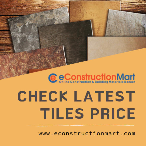 Check Latest Tiles Price List in India